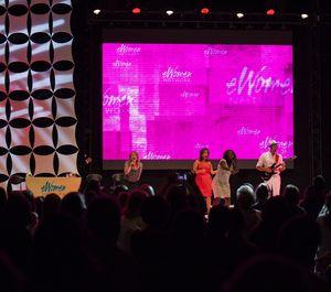 Kimberly Cain_Sandra Yancey_Melba Stevens_Goga_eWomen Conference 2012